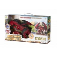 Динозавр Same Toy Dinosaur Planet Дракон красный со светом