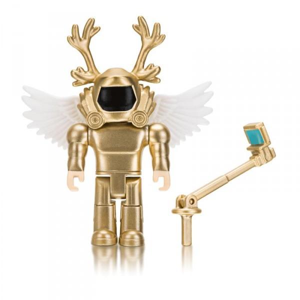 Игровая коллекционная фигурка Jazwares Roblox Core Figures Simoon68, Golden God W6 ROB0200
