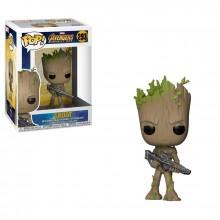 Коллекционная фигурка Funko POP! Bobble: Marvel: Avengers Infinity War: Groot 26904