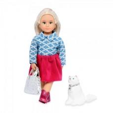 Кукла Lori 15 см Кайденс и кошка Кики LO31053Z