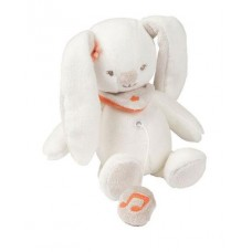 Nattou Мягкая игрушка с музыкой кролик Мия 21см. 562072