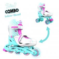 Роликовые коньки Neon Combo Skates Бирюзовый (Размер 30-33