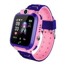 Детские телефон-часы с GPS трекером GOGPS ME K16S Розовые