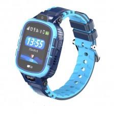 Детские телефон-часы с GPS трекером GOGPS ME K27 Синие