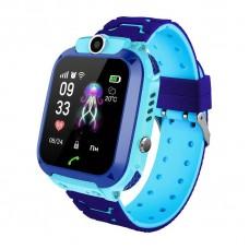 Детские телефон-часы с GPS трекером GOGPS ME K16S Синие