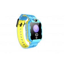 Детские телефон-часы с GPS трекером GOGPS ME K22 Синие