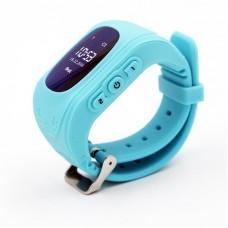 Детские телефон-часы с GPS трекером GOGPS ME K50 Бирюзовые