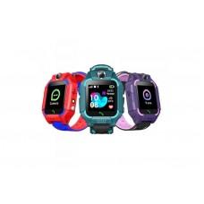 Детские телефон-часы с GPS трекером GOGPS ME K24 Зеленые