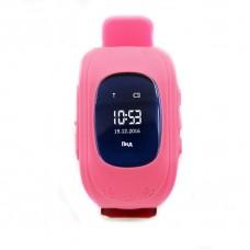 Детские телефон-часы с GPS трекером GOGPS ME K50 Розовые
