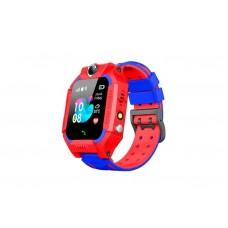 Детские телефон-часы с GPS трекером GOGPS ME K24 Красные