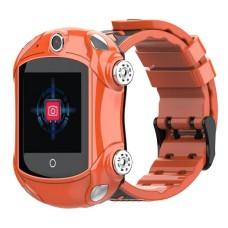 Детские телефон-часы с GPS трекером GOGPS ME X01 Оранжевые