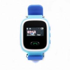 Детские телефон-часы с GPS трекером GOGPS ME K11 Синие