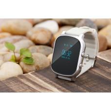 Детские телефон-часы с GPS трекером GOGPS ME К20 Хром
