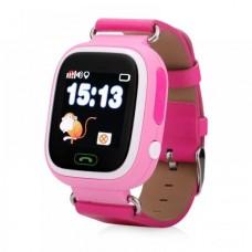 Детские телефон-часы с GPS трекером GOGPS К04 Розовые