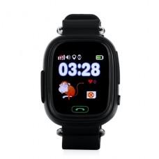 Детские телефон-часы с GPS трекером GOGPS К04 Черные