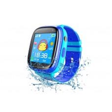 Детские телефон-часы с GPS трекером GOGPS ME K14 Синие