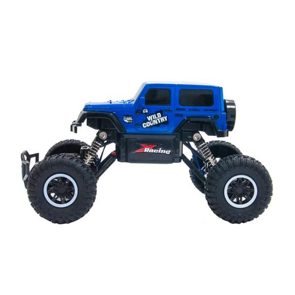 Автомобиль Off-Road Crawler на р/у - Wild Country (синий, аккум. 3,6V, 1:20) SL-106AB