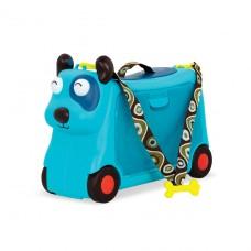 Детский чемодан-каталка для путешествий - Песик-Турист BX1