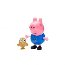 Фигурка Peppa - Джордж с совой 06918-3