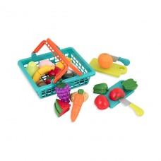 Игровой набор для двоих - Овощи-Фрукты На Липучках BT2534Z