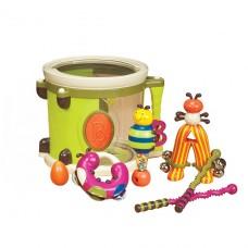 Музыкальная игрушка - Парам-Пам-Пам (8 инструментов, в бар