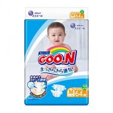 Подгузники GOO.N для детей 6-11 кг (размер M, на липучках,