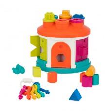 Развивающая игрушка-сортер - Умный домик BT2580Z
