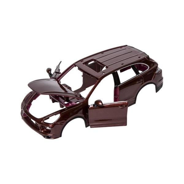 Авто-конструктор - Porsche Cayenne Turbo (коричневый металлик, 1:24) 18-25104