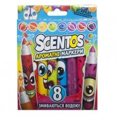 Набор ароматных маркеров для рисования - Плавная Линия (8