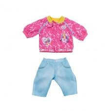 Набор одежды для куклы Baby Born - Кэжуал сестрички (розовый) 828212-1