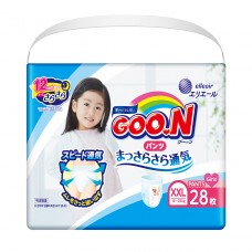 Трусики-подгузники GOO.N для девочек 13-25 кг (размер BigB