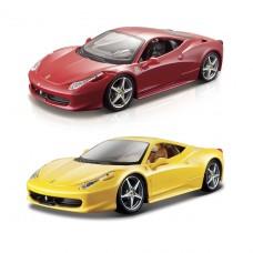 Автомодель - 458 Italia (ассорти желтый, красный, 1:24) 18