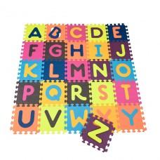 Детский развивающий коврик-пазл - Abc (140х140 см, 26 квадратов) BX1210Z