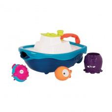 Игровой набор - Кораблик Буль (для игры в ванной и в бассе