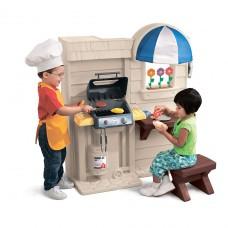 Игровой набор -Кухня с барбекю 2-в-1 450B10060