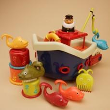Игровой набор - Ловись, Рыбка (для игры в ванной,12 аксессуаров) BX1012Z