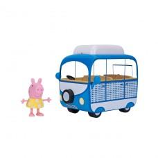 Игровой набор Peppa - Домик На Колесах(фигурка Пеппы, авто