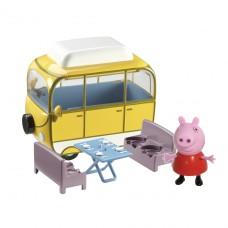 Игровой набор Peppa - Веселый Кемпинг (автобус, фигурка Пе