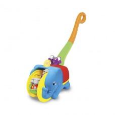 Игрушка-каталка - Слон-Циркач (свет, озвуч. укр. яз.) 5829