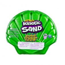 Набор песка для детского творчества - Kinetic Sand Ракушка Зеленая 71482G