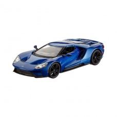 Автомодель - Ford Gt (голубой металлик, серебристый металл