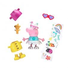 Игровой набор Peppa - Музыкальная Пеппа-Модница (звук, одежда, аксессуары, фигурка 13 см) 96642