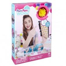 Игровой набор Pom Pom Wow! - Гламур (55 помпонов с люрексом, 6 цветов) 48527-PPW