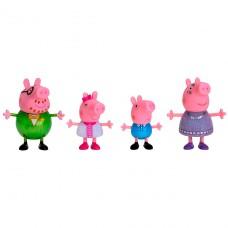 Набор фигурок Peppa - Большая семья Пеппы, праздник (Мама, Папа, Пеппа и Джордж) PEP0770