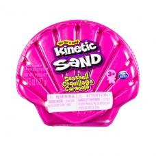 Набор песка для детского творчества - Kinetic Sand Ракушка Розовая 71482P