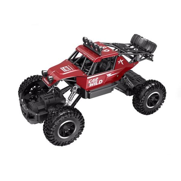 Автомобиль Off-Road Crawler на р/у - Car Vs Wild (красный, аккум. 3,6V, метал. корпус, 1:20) SL-109AR