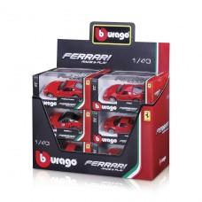 Автомодели - Ferrari (ассорти, 1:43) 18-36100
