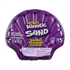 Набор песка для детского творчества - Kinetic Sand Ракушка Фиолетовая 71482PP