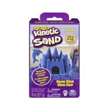 Песок для детского творчества - Kinetic Sand Neon (голубой, 227г) 71423B