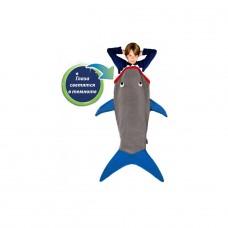 Плед-спальник Blankie Tails - Акула BT0003G-B